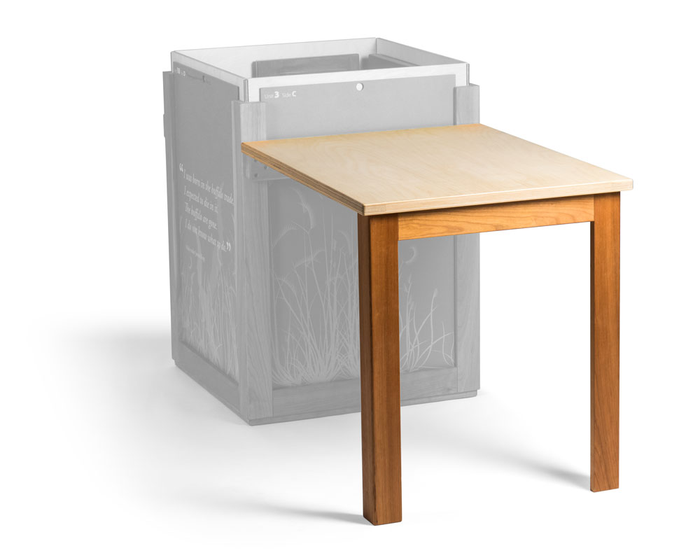 Bison Crate table