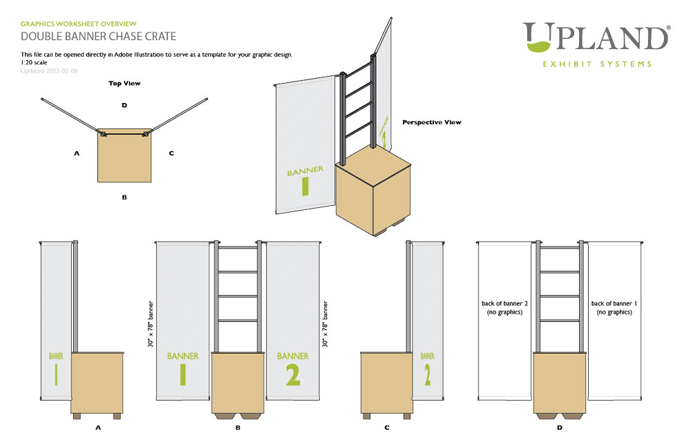 Upland Chase Crate panel graphics worksheet