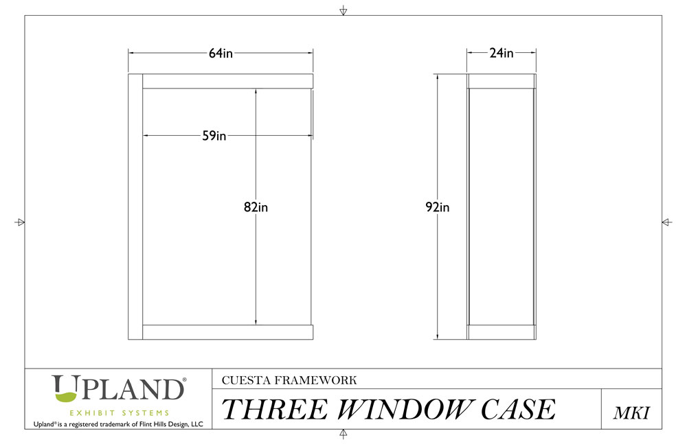 Three Window Cuesta Case