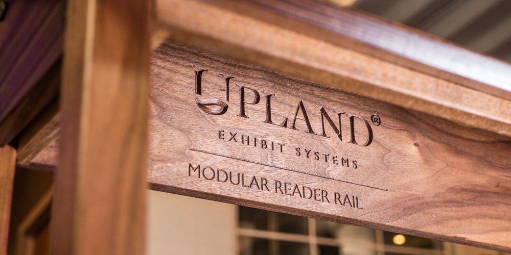 Upland® Modular Reader Rails on display in NYC